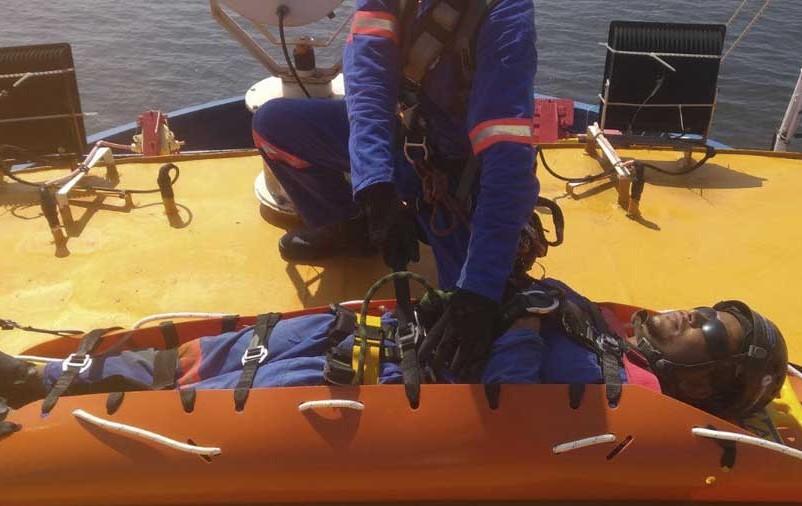 resgate em altura no alpinismo
