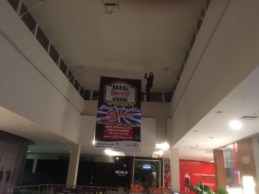 instalação de banner