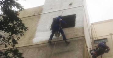 pintar fachada do prédio